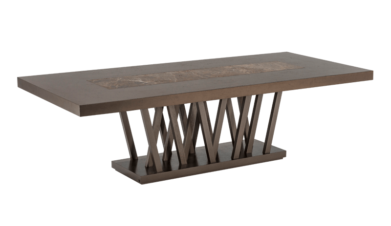 CARAMELO DINING TABLE 701 (MARBLE TOP INSERT)