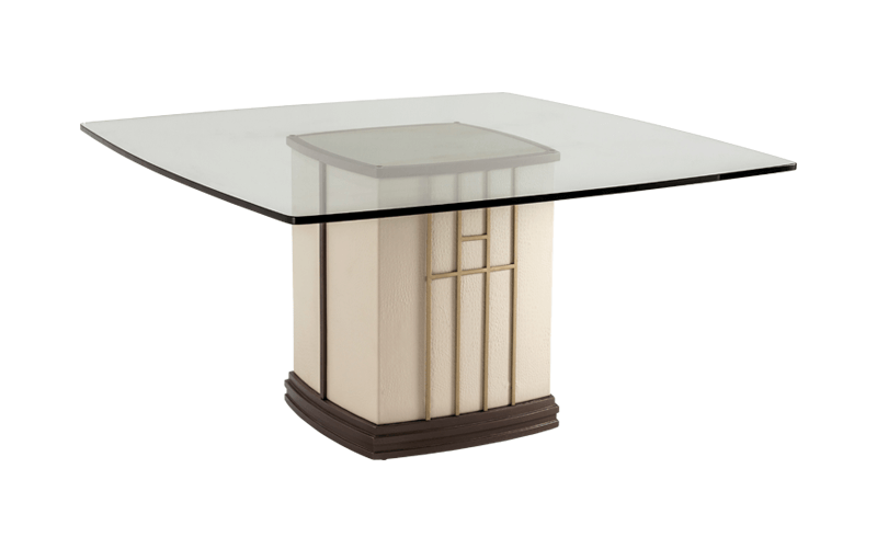 BOLERO SQUARE DINING TABLE BASE 100