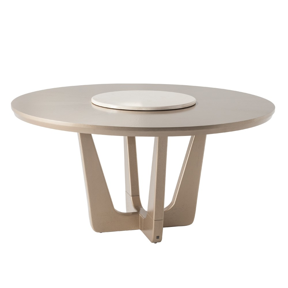 RUMBA DINING TABLE 201 (LAZY SUSAN TOP)