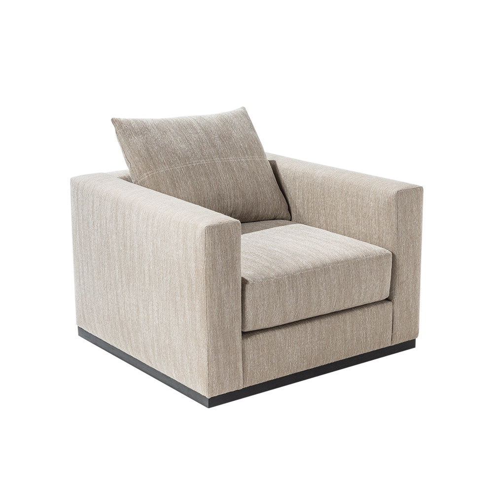 CHOCOLATE ONE SEAT 210 WITH SWIVEL