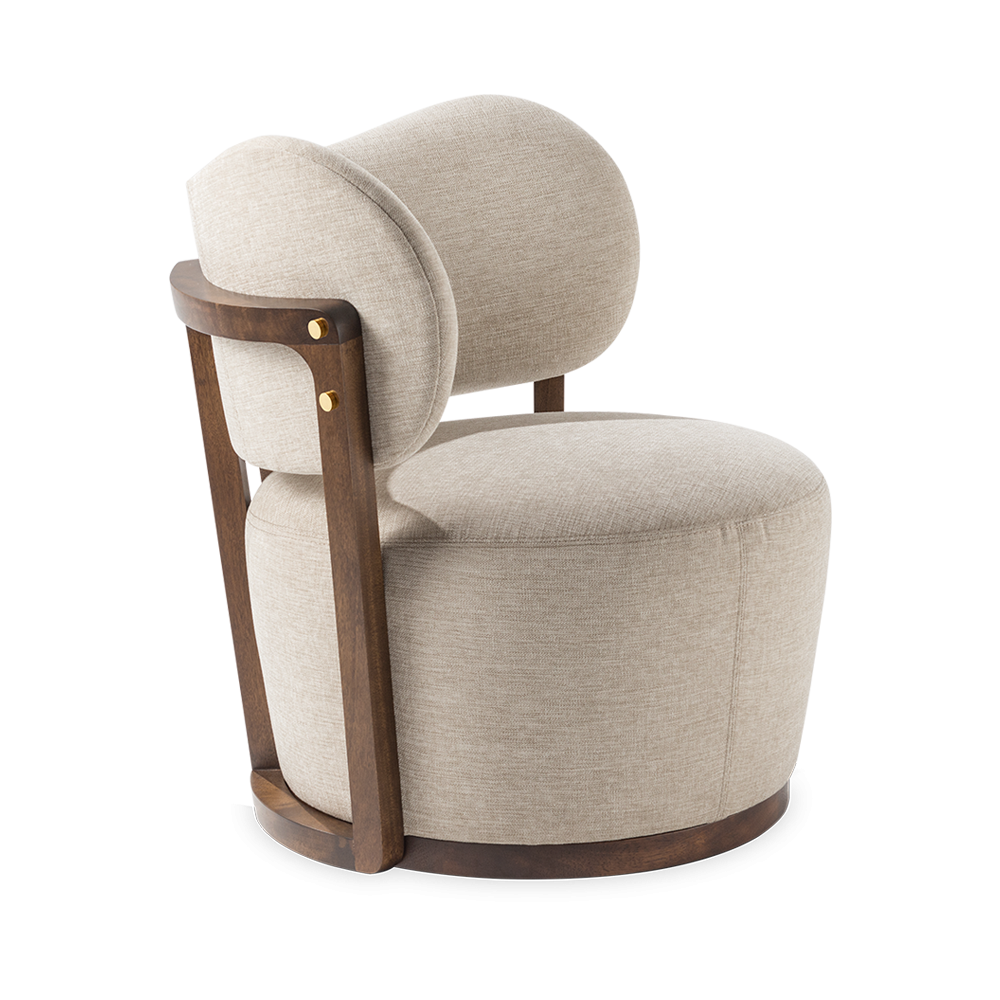 RUMBA UPHOLSTERED CHAIR 100/101