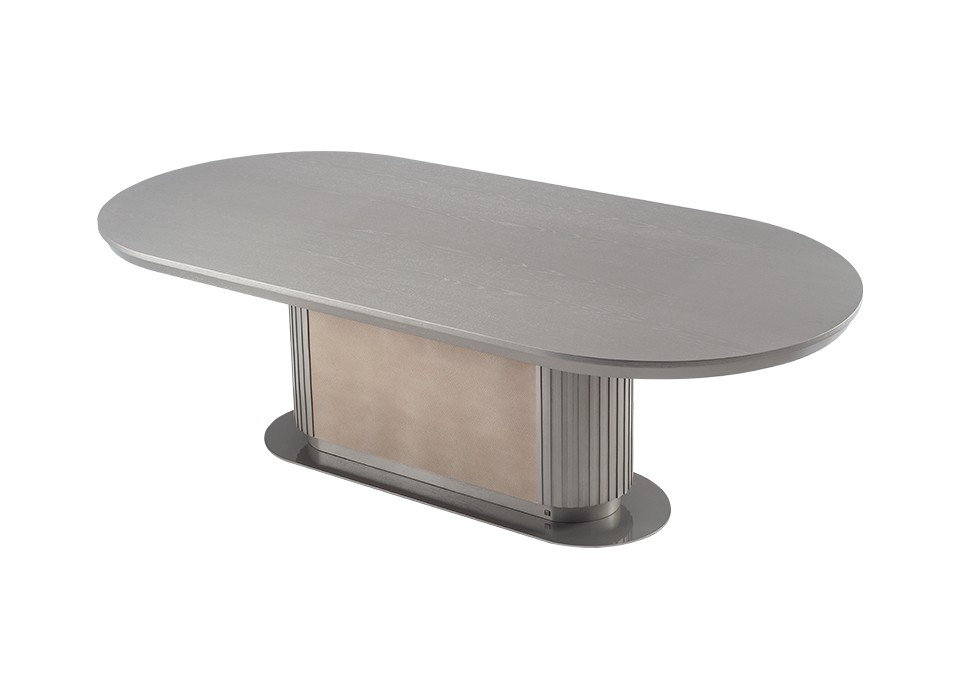 GEM DINING TABLE 100 (WOOD TOP)
