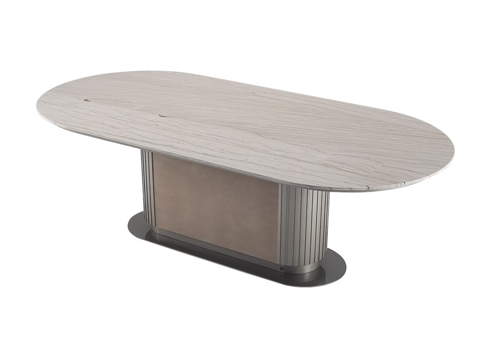 GEM DINING TABLE 101 (STONE TOP)