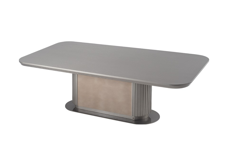 GEM DINING TABLE 110 (WOOD TOP)