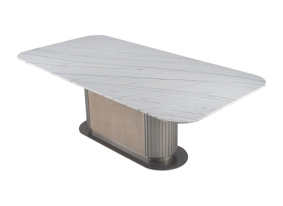 GEM DINING TABLE 111 (STONE TOP)