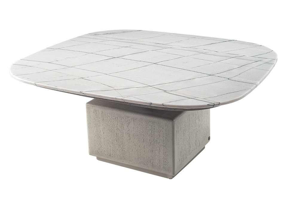 GEM COCKTAIL TABLE 111 (STONE TOP)