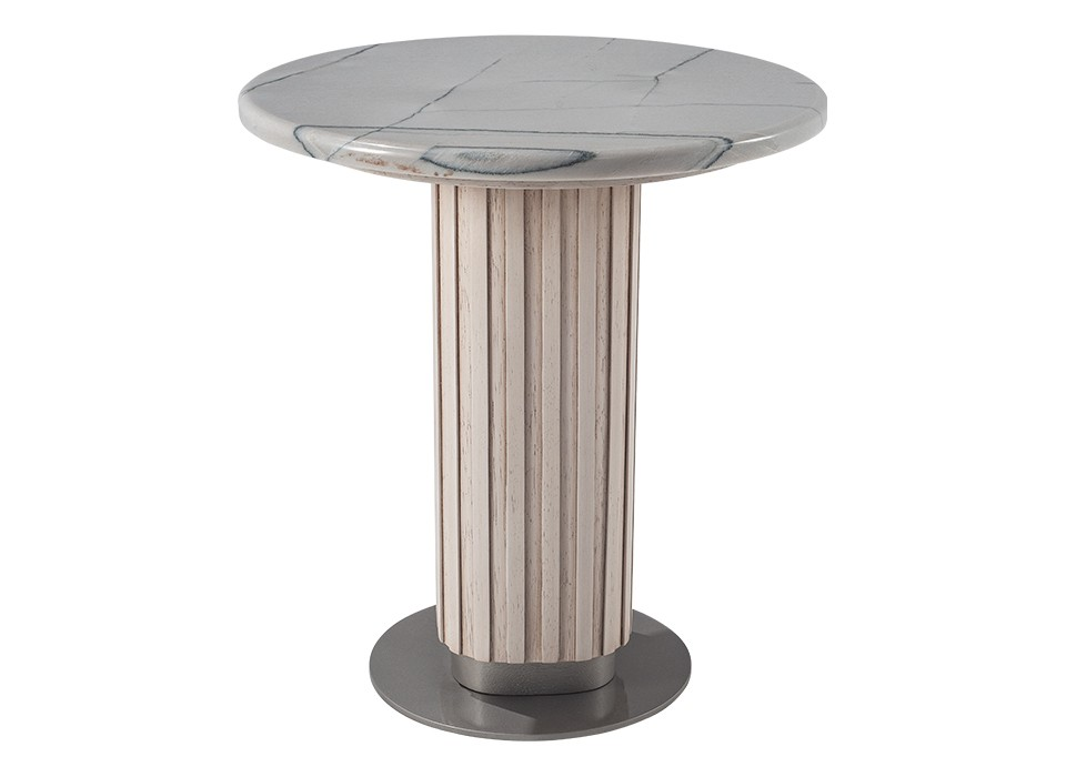 GEM END TABLE 201 (STONE TOP)