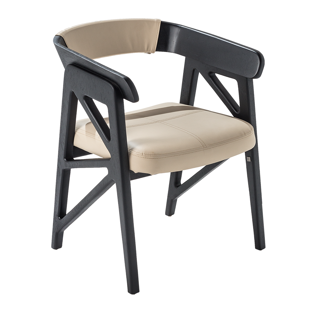 TEN SIDE CHAIR 210 (UPHOLSTERED BACK)