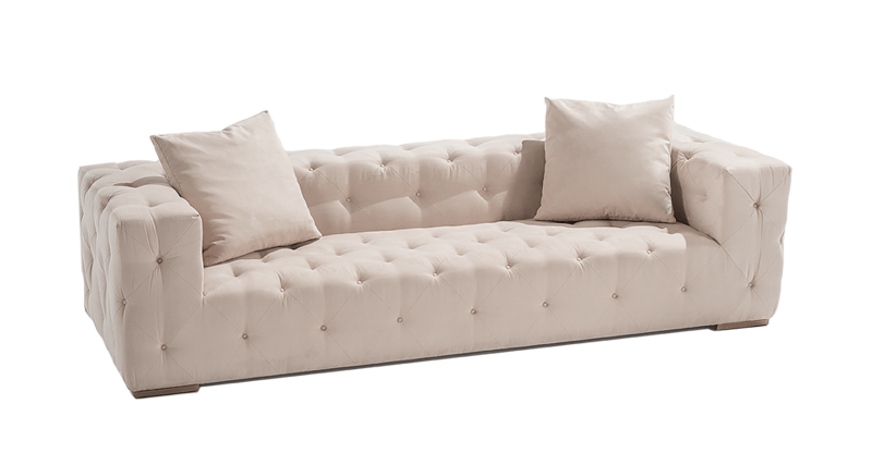 AH SIGNATURE QUILTED SOFA 100