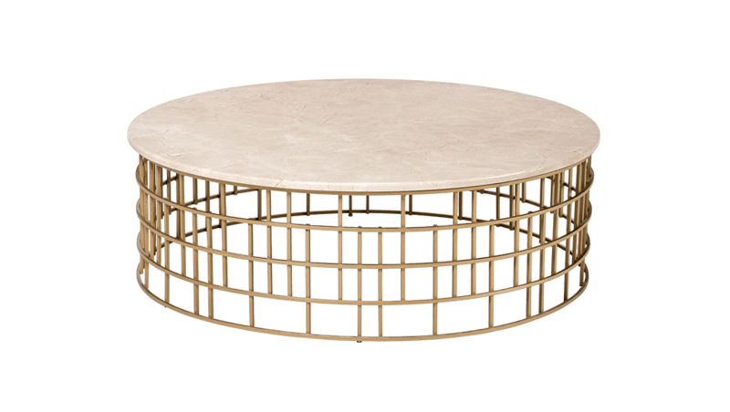 BOLERO COCKTAIL TABLE 101 (MARBLE TOP)