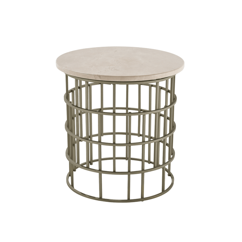 BOLERO END TABLE 111 (MARBLE TOP)