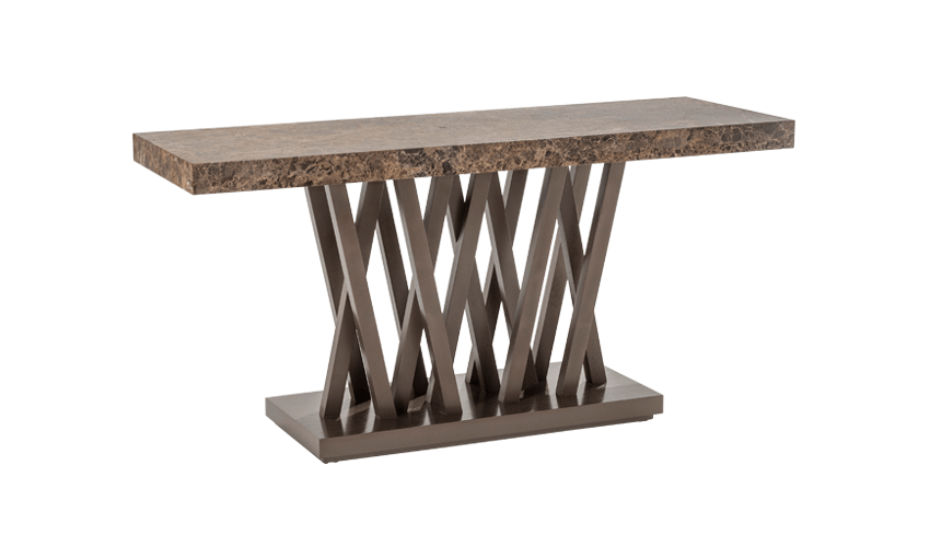CARAMELO CONSOLE 701 (MARBLE TOP)